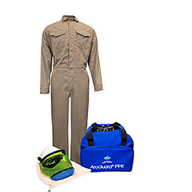 ArcGuard® KIT2CVPR08NG 8 cal/cm2 DuPont Protera Arc Flash Kit W/FR Coverall, LG, No Gloves