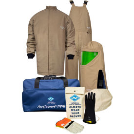 ArcGuard® KIT4SCPR40 MD08 40 cal/cm2 Dupont Protera Arc Flash Kit, MD, Glove Size 08
