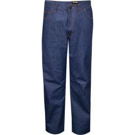 TECGEN Select® Flame Resistant Jeans, 50 x 30, Classic Denim, PNTJGJ50X30