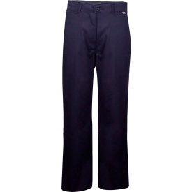 ArcGuard® Flame Resistant Work Pants in UltraSoft, 46 x 32, Navy, PNTUP46X32