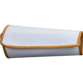 "CutGuard™ White Polyester Mesh 9"" Wristlet, M, White, S01MZ9XMD"