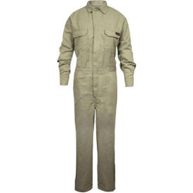 TECGEN Select® Women's Flame Resistant Work Shirt, S, Tan, TCGSSWN00112SMRG00