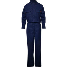 TECGEN Select® Women's Flame Resistant Work Shirt, L, Navy, TCGSSWN00116LGRG00
