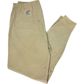 National Safety Apparel® Flame Resistant Control 2.0 Long Underwear, 3XL, Desert Sand