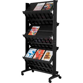 Paperflow Double Sided XL Literature Display Black