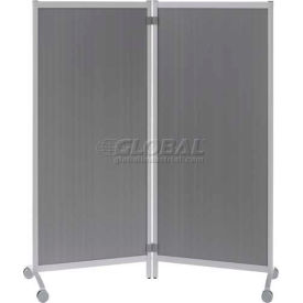 Paperflow Portable Office Partitions Gray
