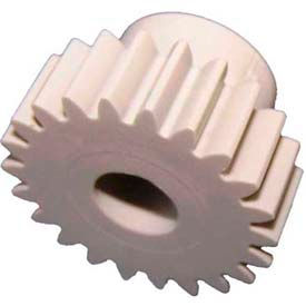 Plastock® Spur Gears 32-24, Acetal, 20° Pressure Angle, 32 Pitch, 24 Tooth
