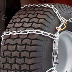 Maxtrac Snow Blower/Garden Tractor Tire Chains, 4 Link Spacing (Pair) 1062255 Package... by