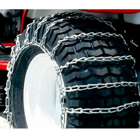Maxtrac Snow Blower/Garden Tractor Tire Chains, 2 Link Spacing (Pair) - 1062956 - Pkg Qty 2