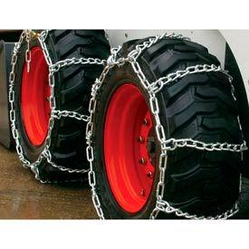 3400 Series Skid Loader Chains w/ HD Twist Cross Chains, 2 Link (Pair) - 0341056