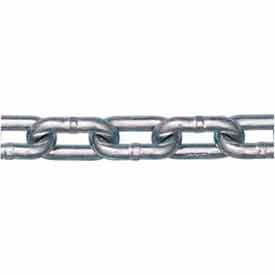 Peerless™ 5011434 10mm Utility Chain - Pc 200 Ft/Drum Zinc - Pkg Qty 200