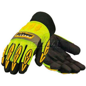 PIP Maximum Safety® Mad Max Thermo, Professional Workman's Glove, Black, XL - Pkg Qty 12