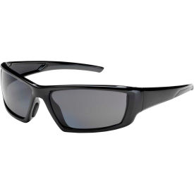 Bouton® Optical Sunburst Full Frame Glasses, Polarized Gray Lens, Anti-Scratch/Fog, Black Frame - Pkg Qty 6