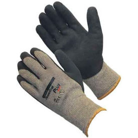 PIP PowerGrab™ Plus Gloves, Blue Latex W/ MicroFinish™, L