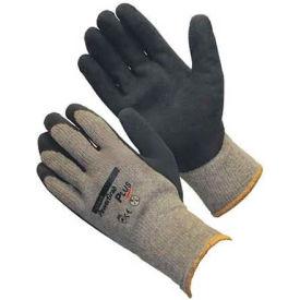 PIP PowerGrab™ Plus Gloves, Blue Latex W/ MicroFinish™, M