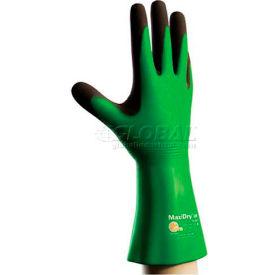 """PIP MaxiDry® CR Gloves, Blended Polymer Coating, Super Fine Gauge Seamless Knit, 14""""L, L"""