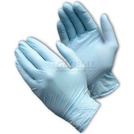 PIP Ambi-Dex® 63-331PF Premium Industrial Grade Nitrile Gloves, Powder-Free, Blue, XL, 100/Box