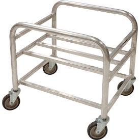"""Prairie View Bulk Mover Cart LUGCT1BK6 - 6 Bushel, 28""""L x 22-1/4""""W x 26-1/4""""H, Gray"""
