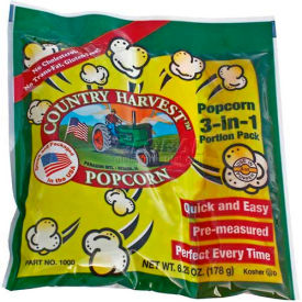 Paragon 1100 Country Harvest Tri-Pack for 4 oz Popper, 40 Portion Packs