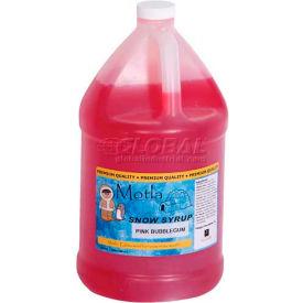 Paragon 6310 Motla Syrups Premium One Gallon - Pink Bubblegum