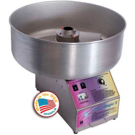 Paragon 7105200 Spin Magic Cotton Candy Machine W/ Metal Bowl, 200 Lbs Servings Per Hour by