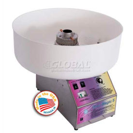 Paragon 7150300 Spin Magic Cotton Candy Machine W/ Plastic Bowl, 200 Lbs Servings Per Hour by