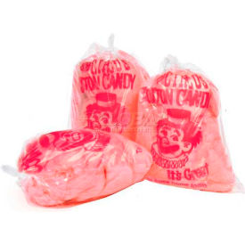 Paragon 7850 Cotton Candy Plastic Bags With Imprint Clown, 1000 Qty by