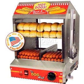"Paragon 8020 Doghut Hot Dog Steamer And Merchandiser, 15-1/4""W x 17""D x... by"