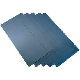 "6 Piece Blue Tempered Shim Stock Assortment 6"" x 12"" Sheets"