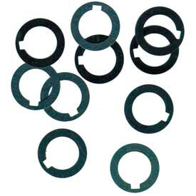 """1/2"""" I.D. x 3/4"""" O.D. x 0.047"""" Steel Arbor Spacer (Pack of 10)"""