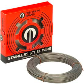 """0.006"""" Diameter Stainless Steel Wire, 1 Pound Coil"""