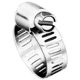 """M10P Micro Seal, Miniature Partial Stainless Worm Gear Hose Clamp, 1/2"""" - 1-1/16 """" 10-Pack"""