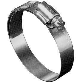 """B48HL Shielded/Lined Worm Gear Hose Clamp, 2-9/16"""" - 3-1/2"""" Clamping Dia. 10-Pack"""