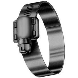 """HD6SN 9/16"""" Band, Heavy Duty 4-Piece Stainless Worm Gear Hose Clamp, 7/16"""" - 7/8"""" Dia. 10-Pack"""