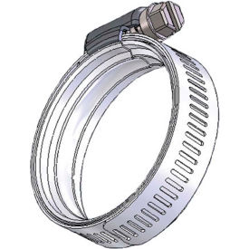 """WS60 WaveSeal 360™, 9/16"""" Band, Constant Tension Hose Clamp, 2-11/16"""" - 4-1/16"""" Dia. 10-Pack"""