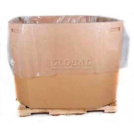 """Protective Lining Industrial Gaylord & Tote Bin Liner, 48"""" X 40"""" X 100"""", 2 Mils - Pkg Qty 50"""