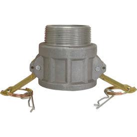 "1-1/2"" Aluminum Camlock Fitting - Female Coupler x MPT Thread"