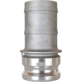 "3/4"" Aluminum Camlock Fitting - Male Barb x Male Coupler Thread"