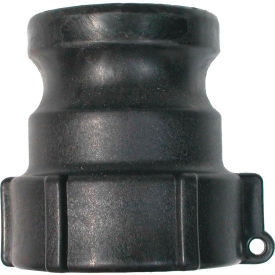 """1-1/4"""" Polypropylene Camlock Fitting - Male Coupler x FPT Thread"""