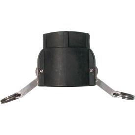 "1-1/2"" Polypropylene Camlock Fitting - Female Coupler x FPT Thread"