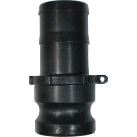 "2"" Polypropylene Camlock Fitting - Male Barb x Male Coupler Thread"