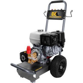 BE Pressure B4013HJ 4000 PSI Pressure Washer - 13HP, Honda GX Pull Start Engine, Cat Pump