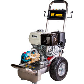 BE Pressure B4213HSJ 13HP 4000 PSI Pressure Washer W/Honda GX Engine & Cat Pump