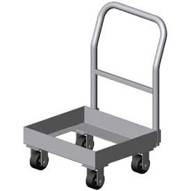 """Prairie View Chill1-Chillhand, Chill Tray Dollies, Single Handle, 22-3/4""""W x 10""""H x 60""""D, Aluminum"""