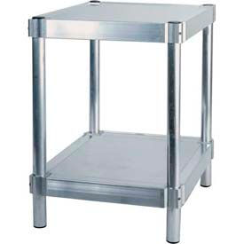 "Prairie View N183024-2, Shelving Unit, 2 shelf, 18""W x 30H x 24""L, Aluminum"