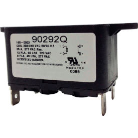 PSG 90290Q SPNO Quick Connect Enclosed Fan Relay 50/60 Hz 240VAC, 8 Amps, Coil 24VAC