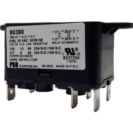 PSG 90380 SPNO-SPNC Heavy Duty Relay 50/60 Hz 8 Amps @240V; Coil 24VAC
