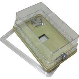 "PSG BTG54VLW Thermostat Guard Metal Hinged Ring Base: 6.125""Hx3.813""x3""D"