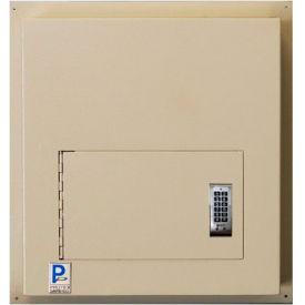 "Protex Through-The-Wall Depository Drop Box WDD-180E - Electronic Lock 14""W x 12""D x 15""H, Beige"