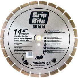 "Grip-Rite General Purpose Diamond Saw Blade 14"" Dia. 14mm Rim"